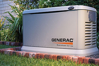 Generac Home Generator installed by Robies.