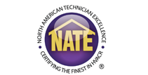 Robies has technicians who are NATE certified.
